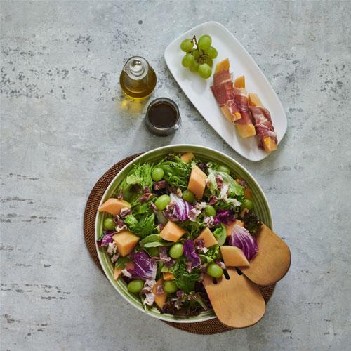 Balsamic Prosciutto Salad
