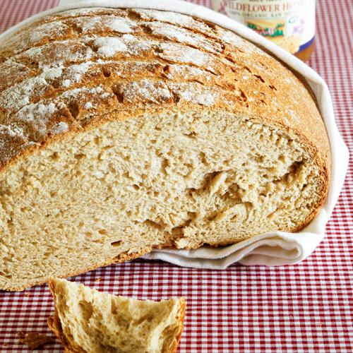 薰衣草蜂蜜面包