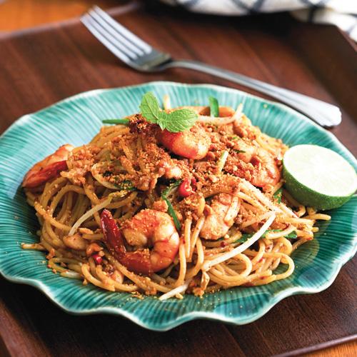 Spaghetti Pad Thai